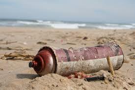contaminar menos en la playa